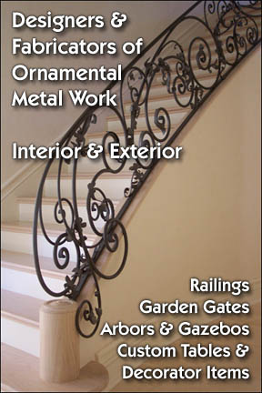 Designers & Fabricators of Ornamental Metal Work